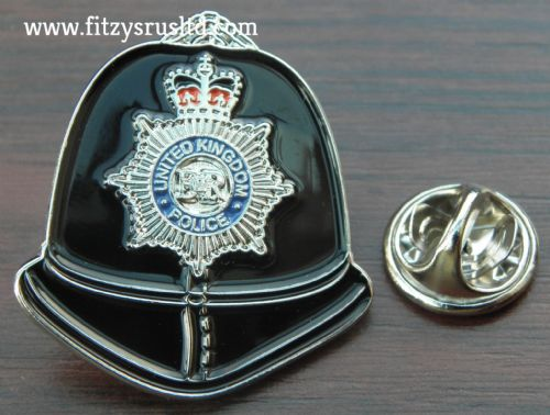 Police Hat Lapel Hat Cap Tie Pin Badge Brooch - Copper Cop Bobby Souvenir Gift